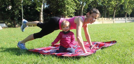 5 Übungen, wie Mütter nach der Schwangerschaft schnell fit werden - Alles rund…
