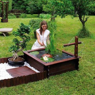 """Bassin de jardin """"Tokyo"""" par Jardipolys chez Delamaison"""