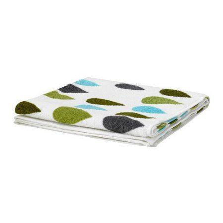 IKEA SKARET -Badetuch mehrfarbig - 70x140 cm
