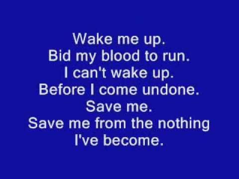 Bring Me to Life - Evanescence - YouTube