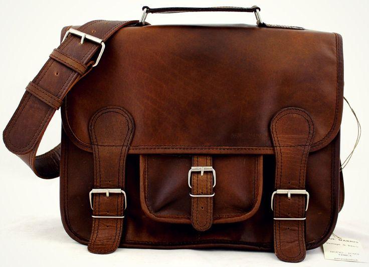 Cartable Cuir Vintage - INDUS' - Sac Retro Sac cuir bandoulière signé PAUL MARIUS Taille M: Amazon.fr: Chaussures et Sacs