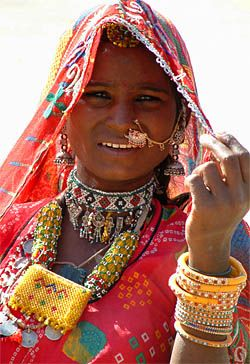 Rajasthani_vrouw