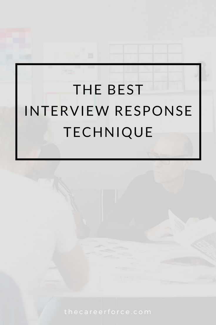best interview answer technique the star method superior court