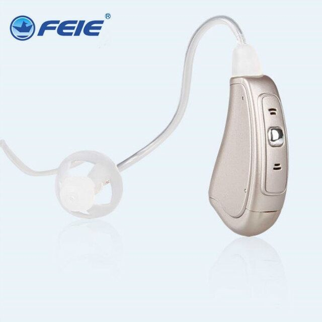 169.10$  Buy now - http://aliy19.worldwells.pw/go.php?t=32566603832 - feie ric-sp mini band aids digital ric open fit digital hearing aid medical ear hearing MY-18S