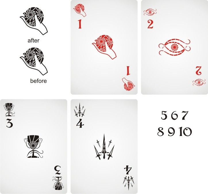 Hearts, spades, clubs, and diamonds are the past!  Design four new playing card suits for my game! by winterweizz