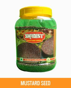Swadist Spices : #SwadistMustardSeeds  Indigenous to the Mediterranean and Southern Europe, mustard is an erect, multi-branched herbaceous plant. Mustard has been in use for ages in condiments and medicines in several parts of the world. Today, its use has been extended widely. India is a major producer of mustard. http://swadistspices.in/portfolio/mustard-seed-jar/