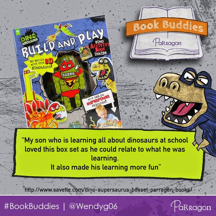 Know a dinosaur fan? UK #BookBuddy blogger 'Spectrum Of Life' thinks our 'Dino Supersaurus Build and Play' creative box set makes learning about dinosaurs really fun!