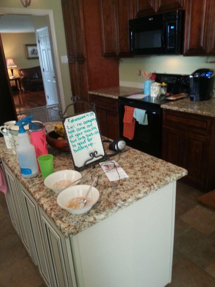 Giallo Napoli Granite Kitchen Countertop Install For The Belue Family Knoxville 39 S Stone