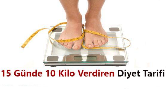 15 günde 10 kilo diyeti nasıl yapılır? Hızlı ve sağlıklı kilo vermek isteyenler için hazırlanan bu diyet sağlıklı bir şekilde zayıflamanıza yardımcı olacaktır.
