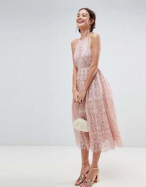 Festliche Kleider Fur Hochzeiten Oder Den Abiball In Rosa Nuancen Mit Bildern Kleid Hochzeit Festliche Kleider Spitzenkleider