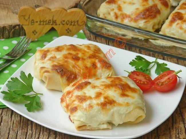 Tavuklu Krep Kebabı Resimli Tarifi - Yemek Tarifleri