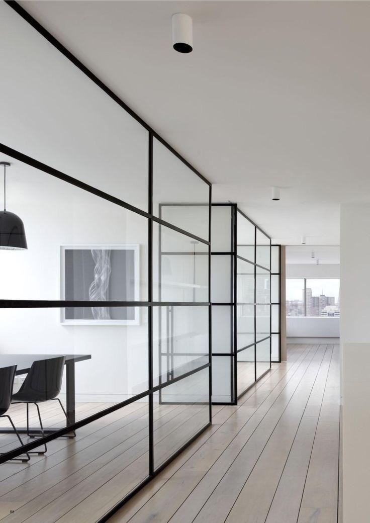 화이트 톤의 선을 강조한 깔끔한 사무실 인테리어 :: my-room