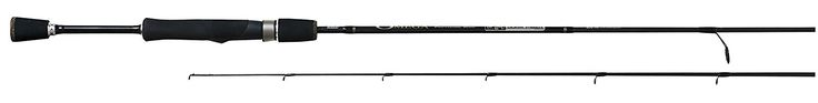 Zebco Omega 2-Piece Medium/Heavy Spinning Rod, 6.6-Feet *** Details can be found by clicking on the image.