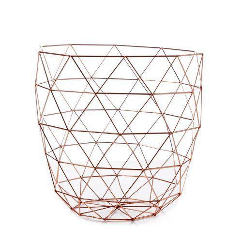 Hexagonal Wire Hamper