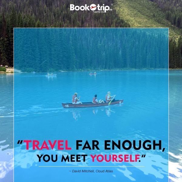 """Travel far enough, you meet yourself.""― David Mitchell, Cloud Atlas #BookOtrip #travelforless"