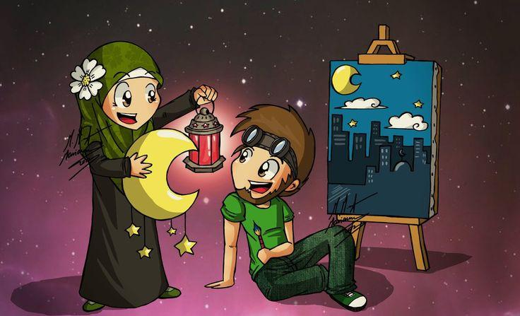 Ramadan is on it's way :D by madimar.deviantart.com on @deviantART