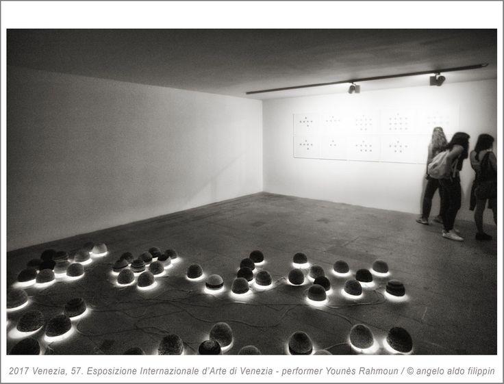 2017 Venezia, 57. Esposizione Internazionale d'Arte - performer Younès Rahmoun