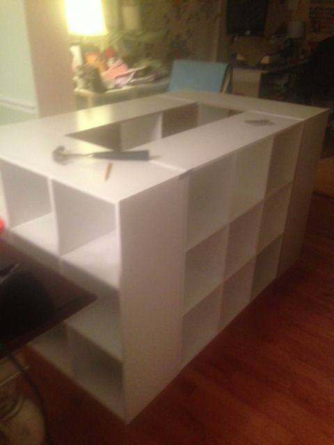Crafty Garden Mom: My Cutting Table. Wonder If I Could Do A Mini Coffee  Table Version.