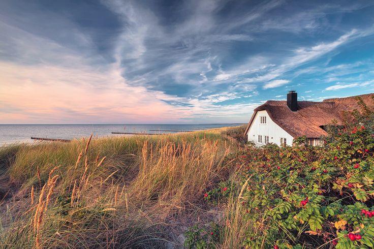 Haus am Meer (Ahrenshoop / Darß), Ahrenshoop, Buhne, Dünen, Fischland, Küste, Ostsee, Strand, Wellenbrecher
