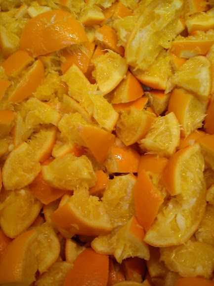 Making an orange marmalade!!..just delicious!!