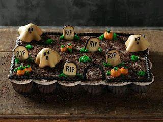 MuyAmeno.com: Cupcakes o Magdalenas para Halloween, parte 1