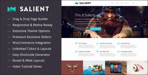 Salient v5.0 – Responsive Multi-Purpose Theme