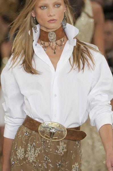 Ralph Lauren Spring 2011 - blouse and skirt