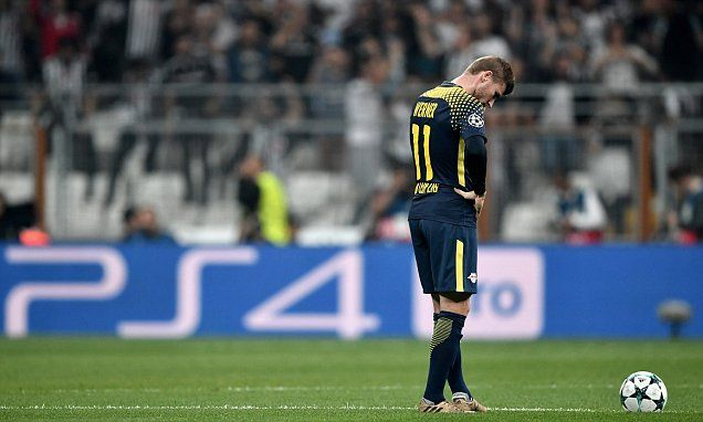 RB Leipzig star Timo Werner forced off by Besiktas fans