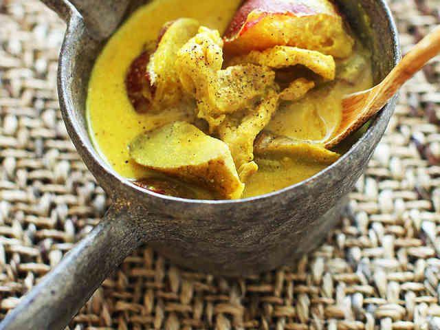 簡単◎豆乳カレースープの画像
