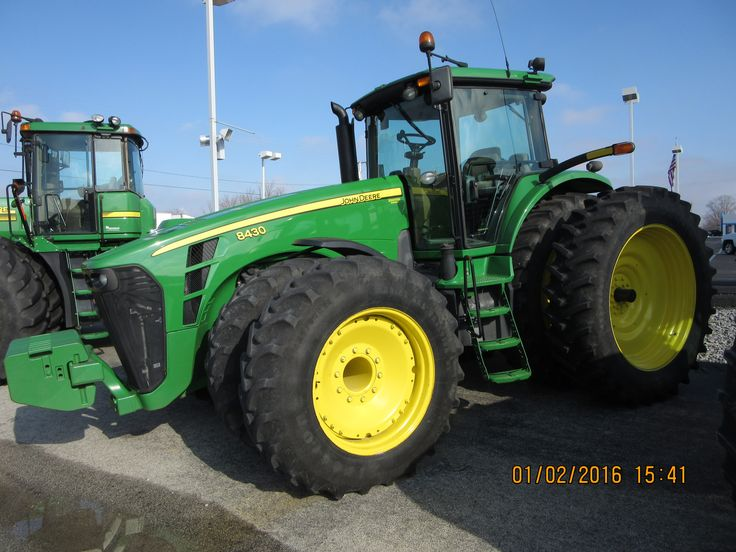 John Deere 8430 from 10 years ago