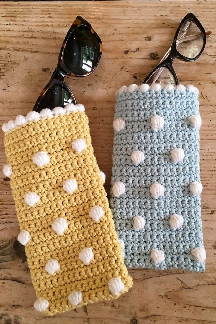 Crochet Club: Sunglasses Case Crochet Pattern