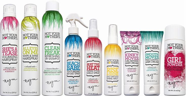 IN. LOVE. Not your mothers hair products. You can find them at Walmart or Ulta. They work like a charm