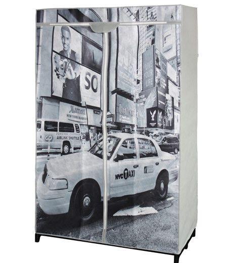 Akasztós mobilszekrény New York nyomattal