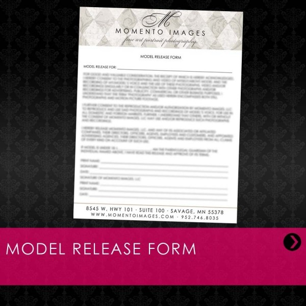 Workflow Model Release Form Photography, the business of - model release form