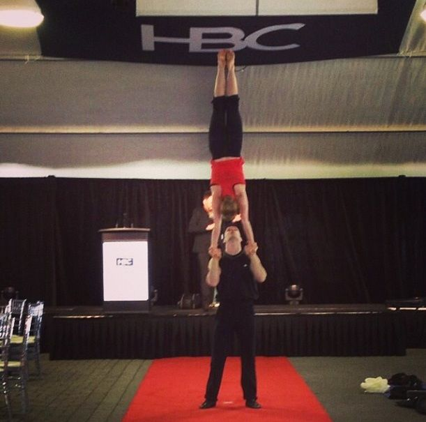 Event, CirqueFantastic and Dr. Draw performance at Rattlesnake Point and Glen Abbey Golf Clubs