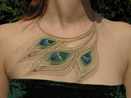bobbin lace by krajkaplet, via Flickr