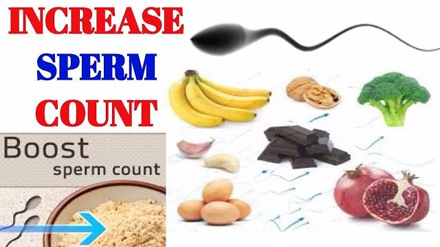 10 Foods That Will Increase Your Sperm Count #health