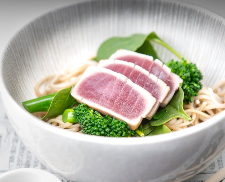 Here's the recipe to treat your taste buds with the delicious and perfect Seared Tuna Soba Noodles!