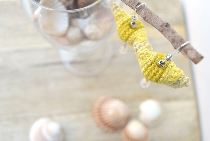 silviamazonshop — ONA pendientes amarillo