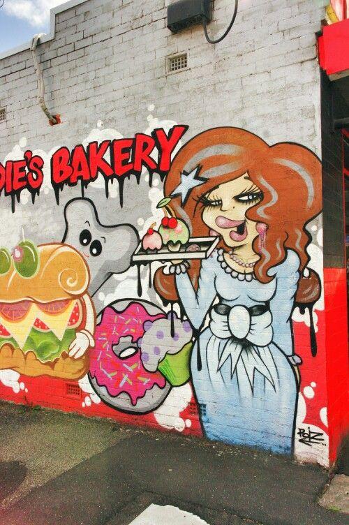 Bakery, nice work of art - Melbourne