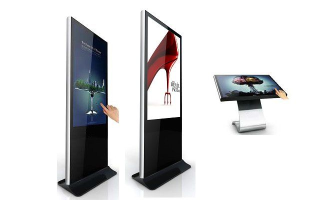 touch screen digital signage kiosk