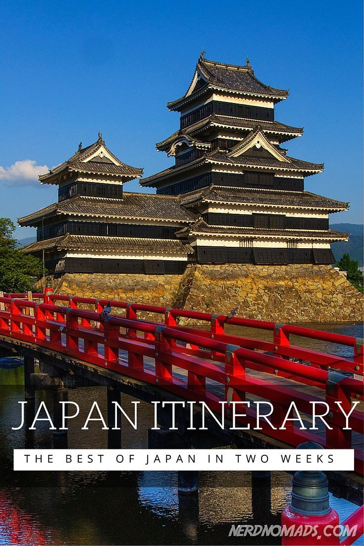 Japan Two Week Itinerary - The best of Japan in two weeks. l #travel #traveltips #japan