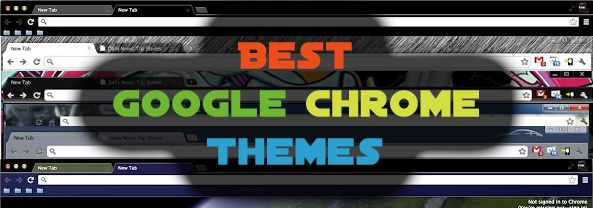 Best Google Chrome Themes Of 2013