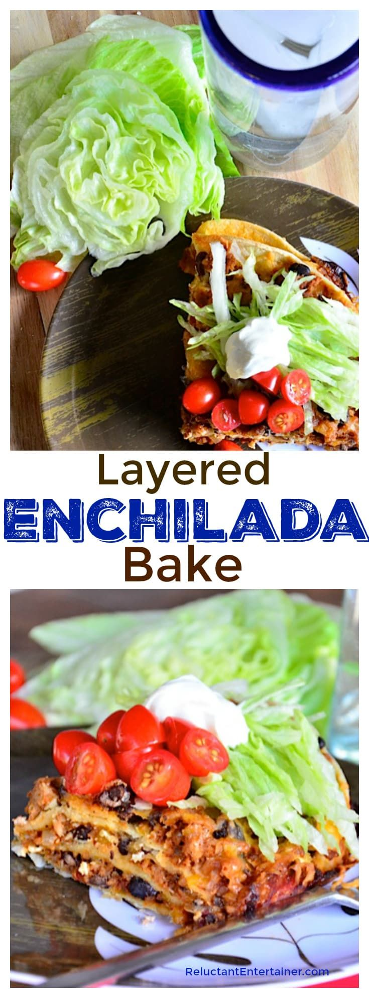 Layered Enchilada Bake Recipe