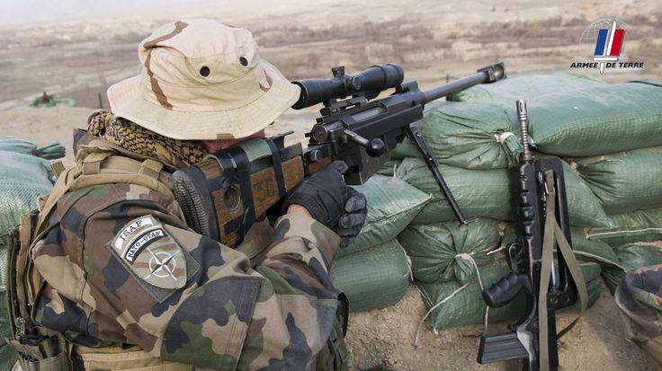 Le PGM, arme des tireurs d'élite de l'armée de Terre.