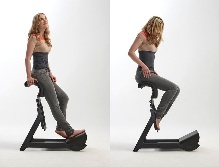 Beautiful Standing Chair Ergonomic Experimental Project By Ariel Levay Throughout Design Inspiration