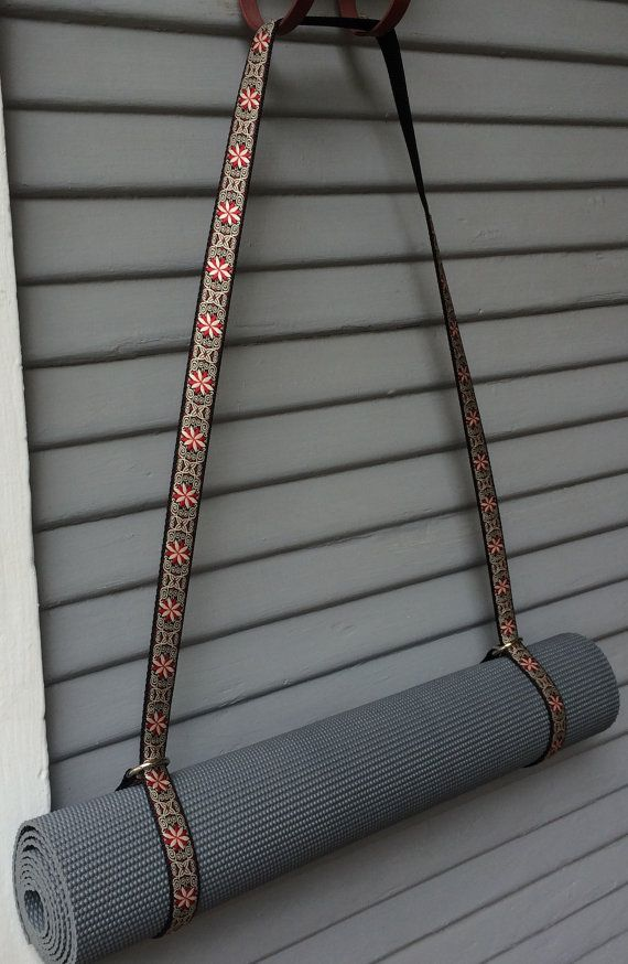 Yoga Mat Strap by BlondeOlive on Etsy