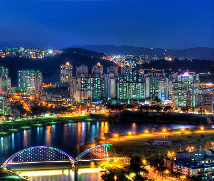 Taehwa River Bridge, Ulsan, South Korea