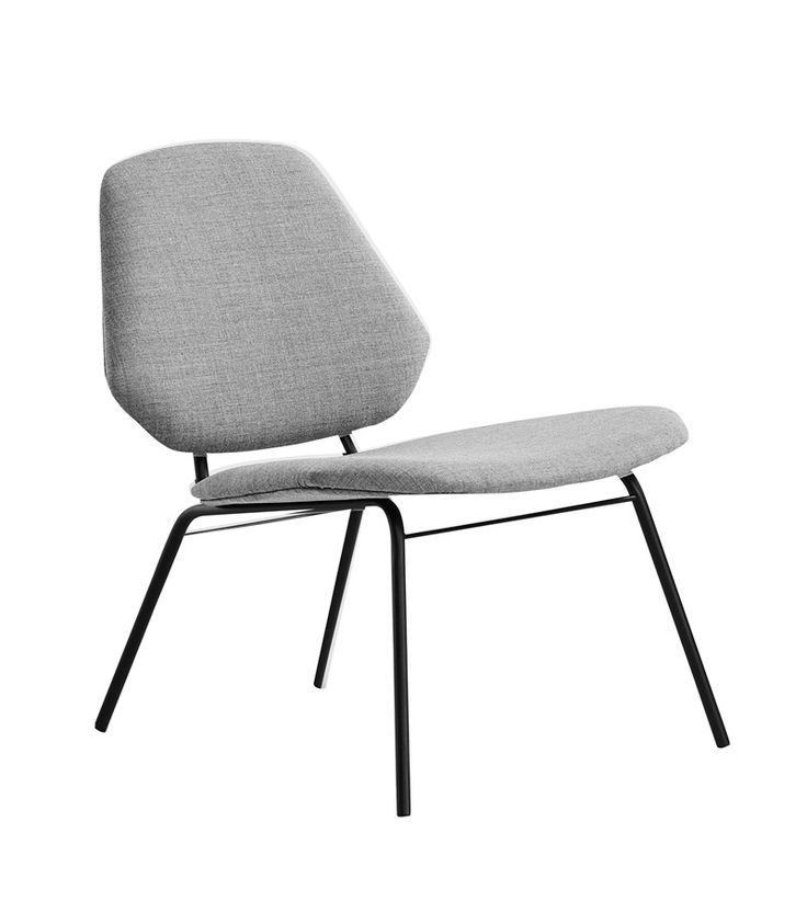 Lean lounge chair, grey