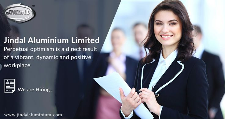 Perpetual optimism is a force multiplier.  Perpetual optimism is a direct result of a vibrant, dynamic and positive workplace and we strive hard to maintain one for our employees. We've put in place transparent appraisal processes, grievance redressal platforms and work on employee engagement day in and day out. Check out our openings @ http://www.jindalaluminium.com/jindal-hr-homepage.php and join the JAL family. #JAL #JALCareers